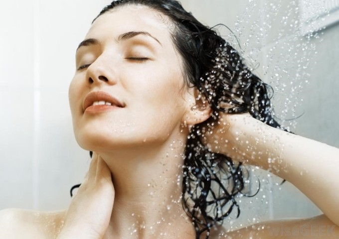 Мытье волос