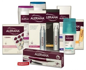 Средства для волос от Алерана