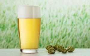 Стакан с пивом