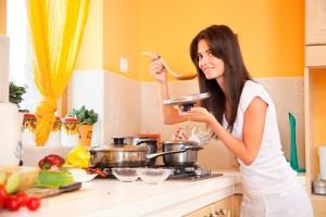Правильное питание при жирных волосах