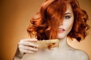 Расчесывание завитых волос