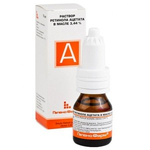Раствор витамина А